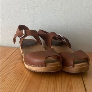 MIA Brown Clogs
